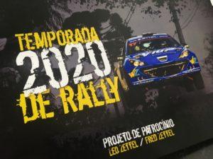 Leo Zettel / Fred Zettel seguem para mais uma temporada no Brasileiro de Rally de Velocidade.