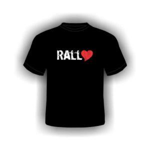 Camiseta Rally no Coração Preta