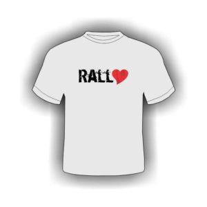 Camiseta Rally no Coração Branca