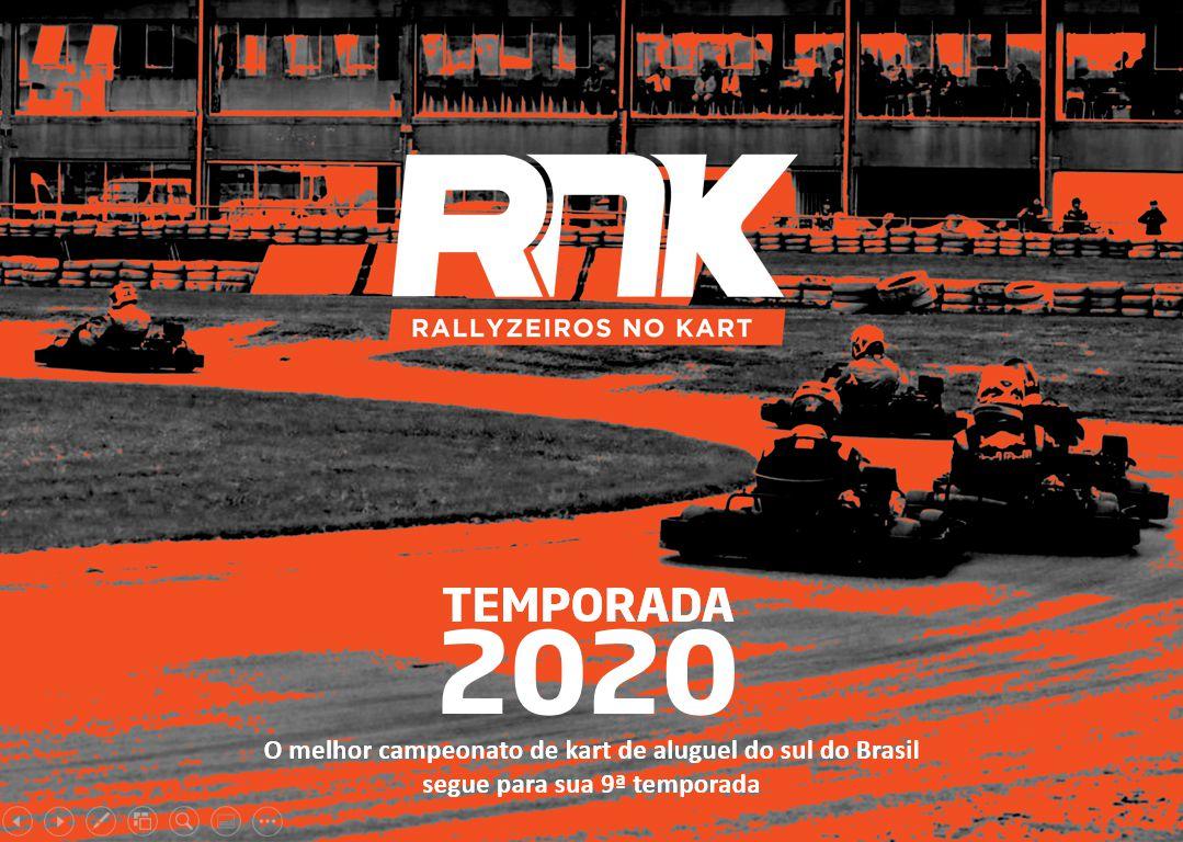 O Melhor Campeonato de Rental Kart do Sul do Brasil segue para sua 9ª Temporada