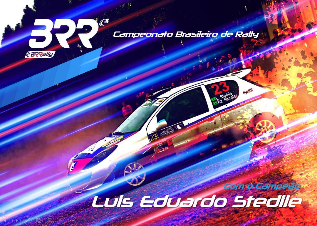 Luis Eduardo Stedile segue para mais uma temporada no Rally de Velocidade