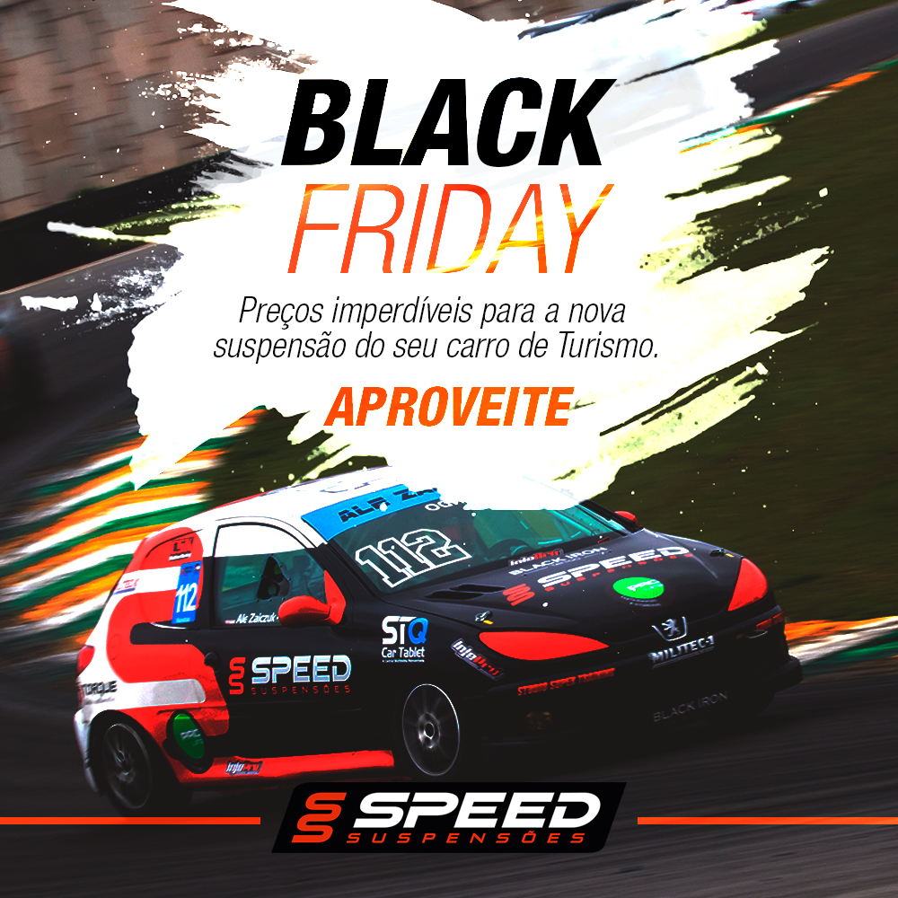 Tem Black Friday na Speed Suspensões