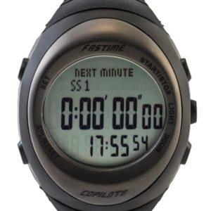 Relógio Fastime para Navegador Preto / Grafite