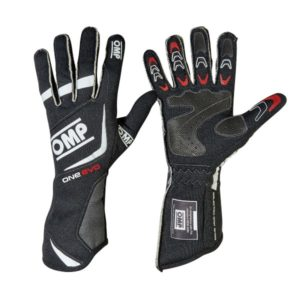 Luva Racing OMP One Evo Preto