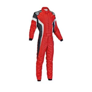 Macacão Racing OMP Tecnica S Vermelho
