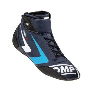 Sapatilha Racing OMP One-S Azul Marinho