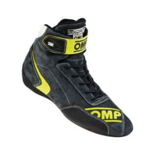 Sapatilha Racing OMP First Evo Amarelo Fluo