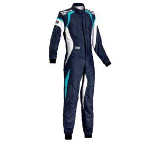 Macacão Racing OMP One Evo Azul Marinho