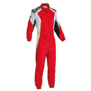 Macacão Racing OMP First-Evo Vermelho