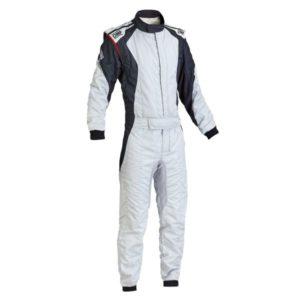 Macacão Racing OMP First-Evo Prata