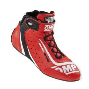 Sapatilha Racing OMP One Evo Vermelho