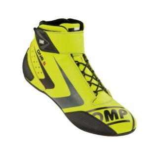 Sapatilha Racing OMP One-S Amarelo Fluo