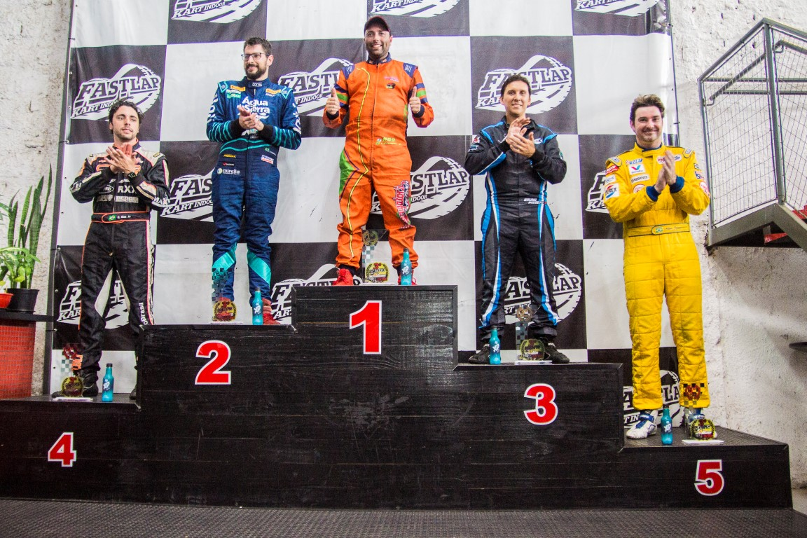 Luizinho Brambila vence o 3º Desafio Fitness Racing de Kart