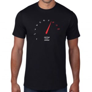Camiseta Conta Giros Preta