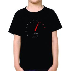 Camiseta Conta Giros Preta Infantil