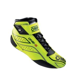 Sapatilha Racing OMP One-S 2020 Amarelo Fluo